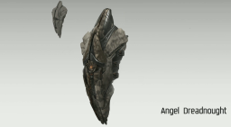 Concept Art of the Angel Cartel Dreadnought