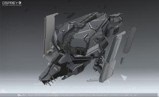 The _work in progress_ Osprey redesign