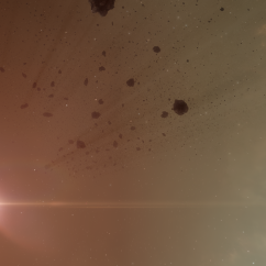 asteroid belt - red sun 4