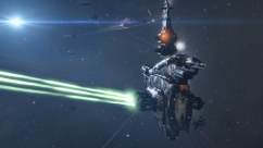 blood raider dreadnought firing