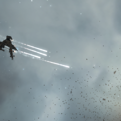 hawk firing missiles