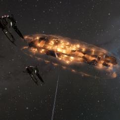 phoenix caldari dreadnoughts shields collapsing