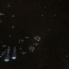 rokh fleet in warp