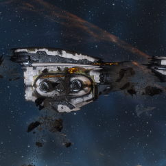wreck of a amarr dreadnought