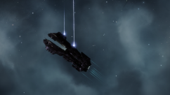 serpentis battleship firing
