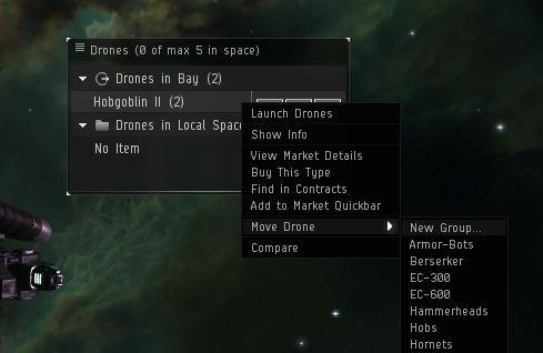 organizing drones