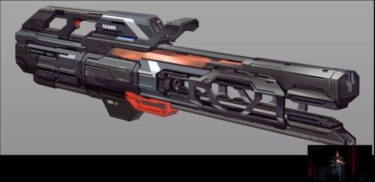NOVA caldari heavy weapon