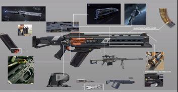 NOVA caldari rail rifle