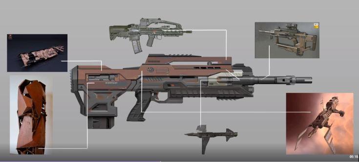 NOVA minmatar bolt rifle