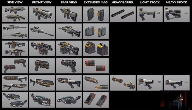 NOVA weapons