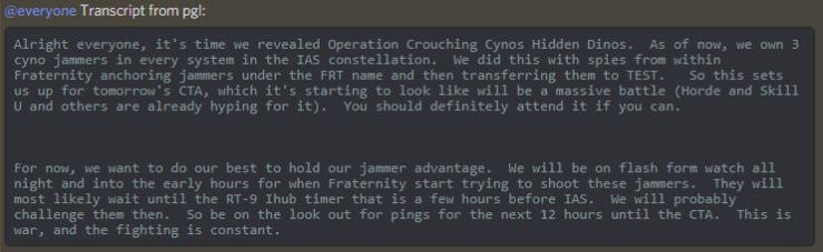 operation crouching cynos hidden dinos