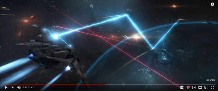 0051 the engine trail seems to bounce from vessel to vessel - kind of like a Keepstar DD