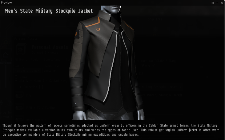 state military stockpile jacket