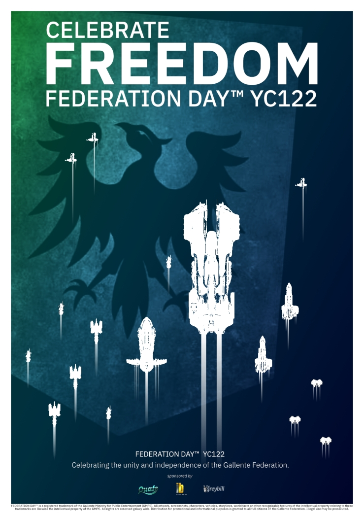 Federation Day YC122 Poster